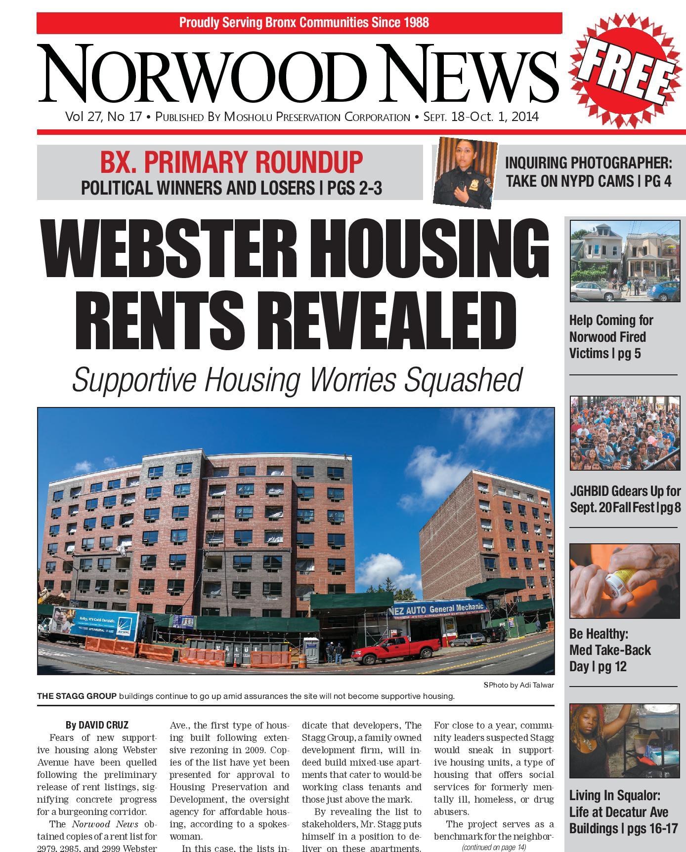 Norwood News Page