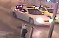 POLICE HAVE IDENTIFIED this white car linked to a grisly shooting near a nightclub.