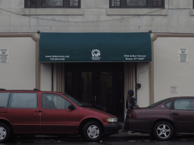 THOUSANDS WALK INTO the doors of VIP Services in Tremont, many of them heroin addicts in the Bronx.  Photo by Anton K. Nilsson