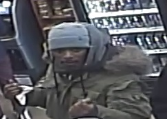 POLICE RELEASED A video still of a suspect wanted for grand theft auto.  Photo courtesy NYPD