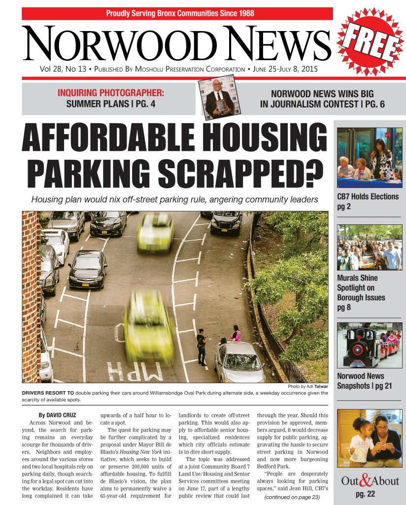 Norwood News Vol. 28 Issue No. 13