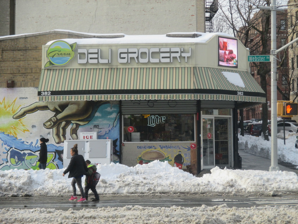 HOW TO RESHAPE Webster Avenue has long been the talk of Norwood, with stores such as this deli making up the current character of the neighborhood. Photo by David Cruz