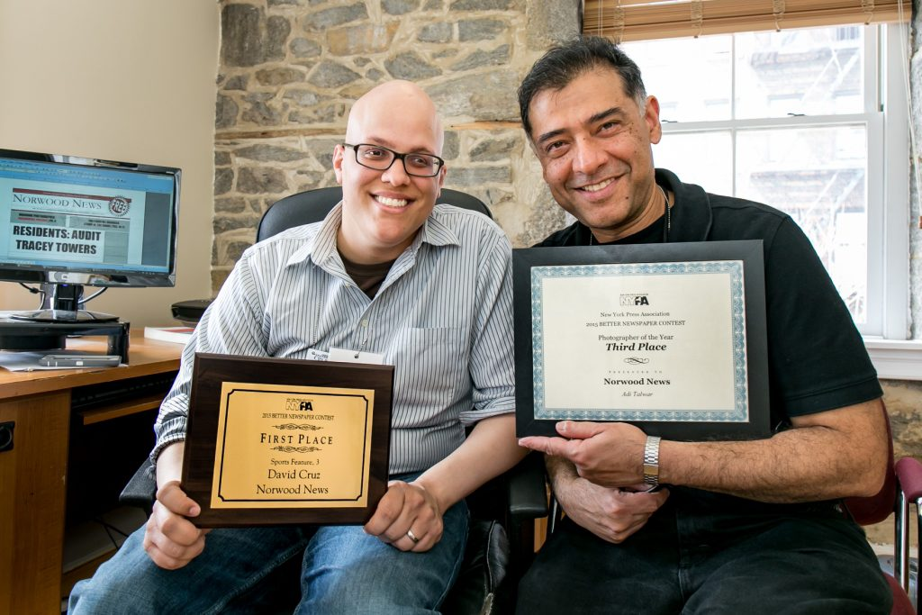 Norwood News Scores Prizes at NYPA Awards (Picture 1)