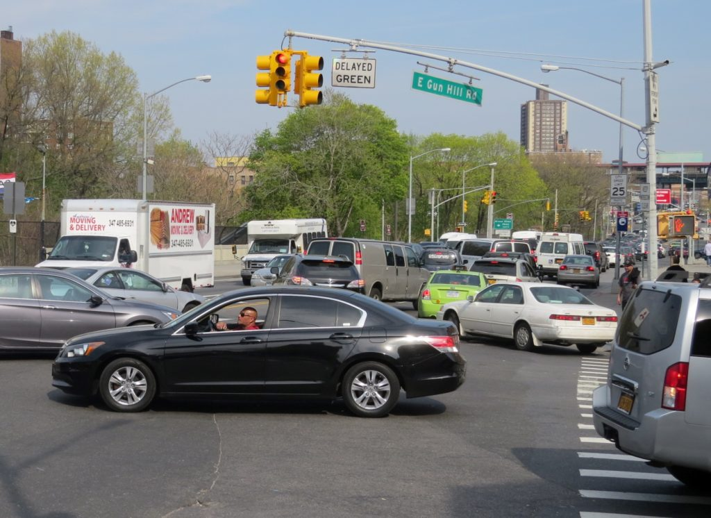 Traffic Twister on Webster Avenue (Standalone Photo)