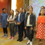 THIS SINGING TROUPE from P.S. 280 in Norwood performed at Montefiore Medical Center. Photo by Adrianna Lombardo