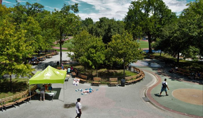 Oval Park May Get Grant From Walt Disney Co.
