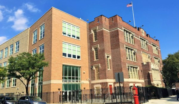 New Wing at P.S. 56 Soars in Norwood