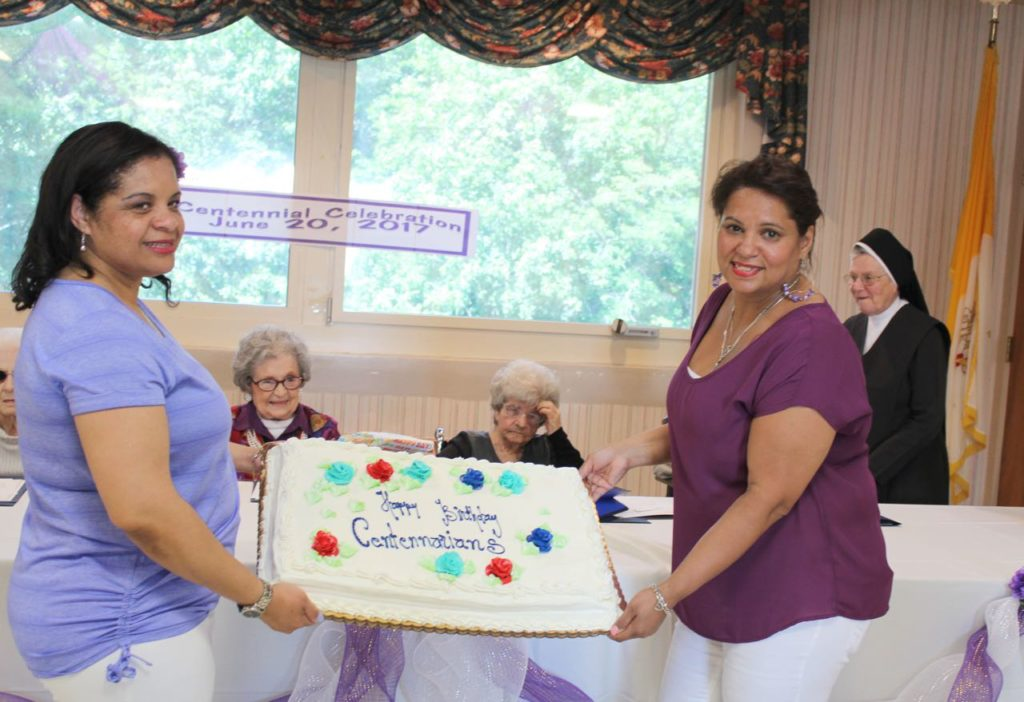 Celebrating Centenarians at St. Patrick's Home