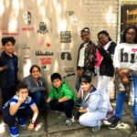 Inspirational Stencils, Courtesy of Bronx Community Charter School Students