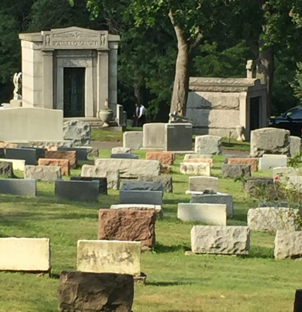 Vandals Remove Crypts at Woodlawn Cemetery