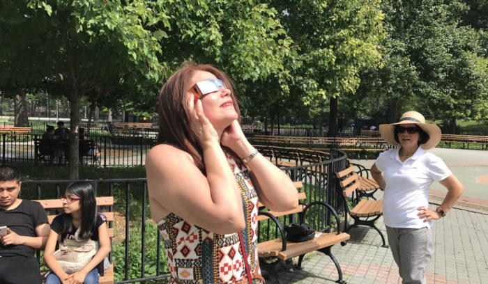 SEE VIDEO: Solar Eclipse a Moment for the Ages in Norwood