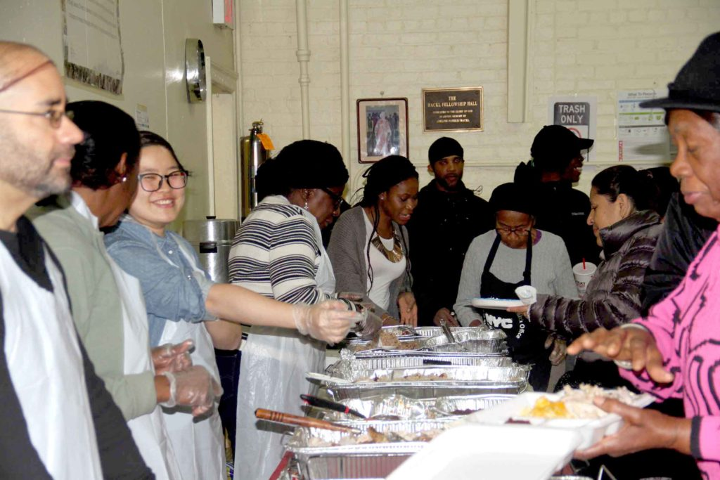 At Fordham Church, Doors Open For Thanksgiving Meal